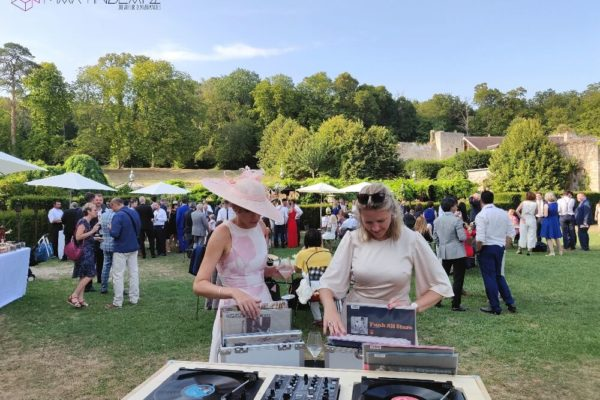 bar vinyles vin honneur mariage