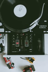 platine vinyle pour mix dj soirée
