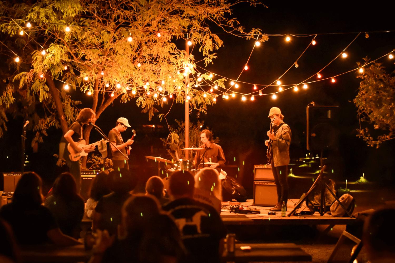 des musiciens en live durant soirée privée