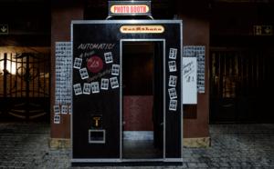 des souvenirs de mariage grâce au photobooth